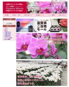 近江の胡蝶蘭ハピネスブロッサム、ヤフー!ショッピング「滋賀県ご当地モール」に出店中です